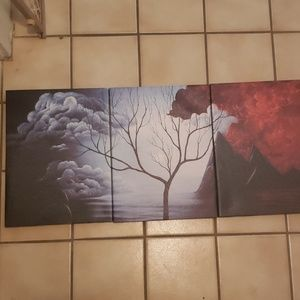 3 piece canvas print